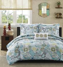 What Size Is A Full Size Comforter Amazon Com Mi Zone Tamil Comforter Mini Set Full Queen Multi