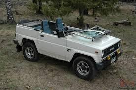 toyota jeep white blizzard diesel 4x4 soft top land cruiser jeep