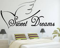 sweet dreams vinyl wall art decal wall saying bedroom sweet dreams vinyl wall art decal wall saying bedroom sticker vinyl