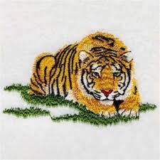 tiger embroidery design lovely design embroidery