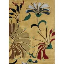 Hibiscus Rug Alliyah Handmade Cornstalk New Zealand Blend Wool Rug 5 U0027 X 8