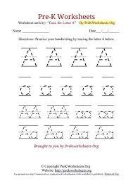 Pre K Letter Worksheets Free Worksheets Alphabet Worksheets Pre K Free Math Worksheets
