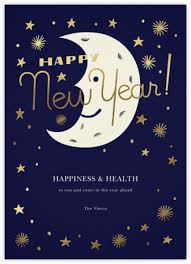 online new years cards new year cards online at paperless post