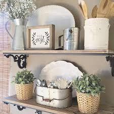 kitchen shelf decorating ideas kitchen shelf decor homepeek
