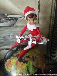 easy the elf on the shelf ideas love makes the world go around