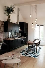 cuisine sol parquet 56 idées comment décorer appartement voyez les propositions