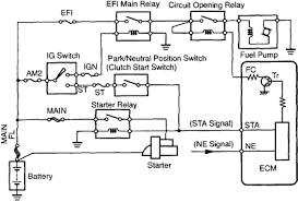 1994 camry wiring diagram start wiring diagrams