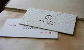 5 types of printing techniques for business cards