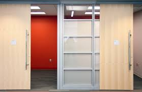 Metal Door Designs Interior Modern Sliding Door In Office Design With Stainless