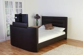 Tv Storage Bed Frame Alluring With Tv Lift Sets Frame King Mischa