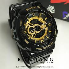 Jam Tangan Baby G jual baby g ba110 1a black gold tae yeon snsd jamtangansby