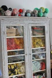 Yarn Storage Cabinets Yarn Storage Would To Find Something With Glass I Can