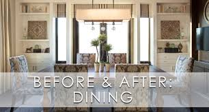 Luxury Dining Room Hamptons Inspired Luxury Dining Room 2 Before And After
