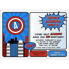 avengers custom invitations stephenanuno com