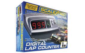 scalextric c7039 digital lap counter track shop