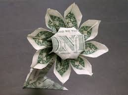 money bouquet how to make a money bouquet of flowers easy dollar bill origami