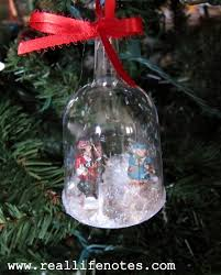 wine glass snow globes diy snow globe ornaments real notes