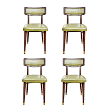 High Boy Chairs Mid Century Thonet Dining Chairs Set Of Four On The Highboy