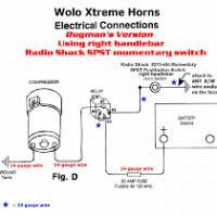 air horn compressor relay wiring diagram yondo tech