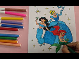 disney princess coloring pages color ariel jasmine