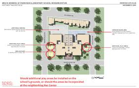 preliminary site plan blocking and stacking proposal for park