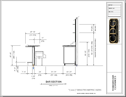 home design dimensions home design lovely typical bar dimensions home design typical