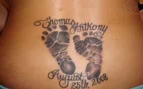 footprints tattoos u2013 tattoo collections
