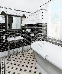 black white bathroom tiles ideas 31 retro black white bathroom floor tile ideas and pictures black