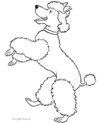 free dog coloring pages puppy