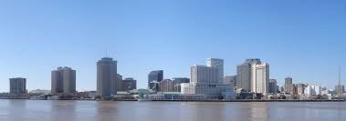 Map Of New Orleans Area by Google Map Of New Orleans Louisiana Usa Nations Online Project