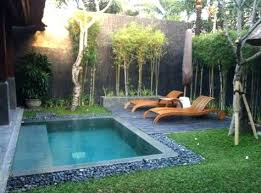 backyard ideas with pool small pool in backyard cost plunge pool for small backyard small
