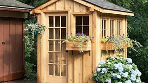 innovative ideas of making garden sheds cottage charm hanging