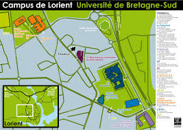 Iup Map The University Of South Brittany