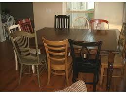 Colored Dining Room Chairs Dining Room Sets Telisa S Furniture And Cabinet Refinishing