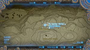 World Of Ice And Fire Map by Zelda Breath Of The Wild Guide To Quomo Shrine Location