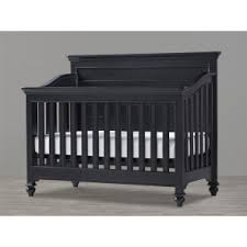 Black Convertible Crib Elsie Spindle Crib Black Pottery Barn Baby Cache Overland