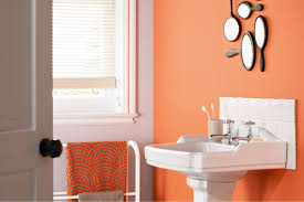 bathroom colors that match peach color simple look of peach and