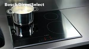 Nutid Induction Cooktop Manual Bosch Induction Hob Energy Consumption Display Youtube
