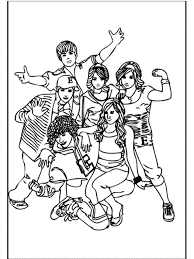Free Printable High School Musical Coloring Pages Many Interesting Coloring Pages For High