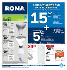 Rona Doors Exterior Rona On Flyer March 30 To April 5