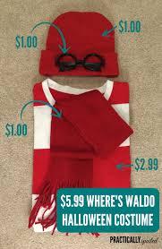 where s waldo costume 5 99 diy where s waldo costume practicallyspoiled