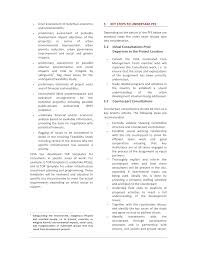pre feasibility study guideline september 2009