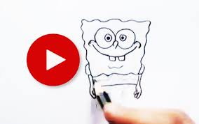 how to draw spongebob squarepants with pencil how to draw