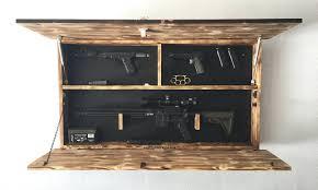 Bedroom Sets With Secret Compartments Hidden Gun Storage American Flag Cabinet Concealed Flagfurniture