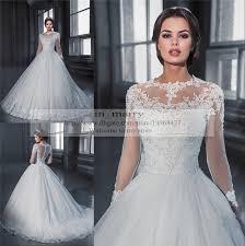 princess wedding dresses uk sleeves vintage lace wedding dresses 2015 a line high neck