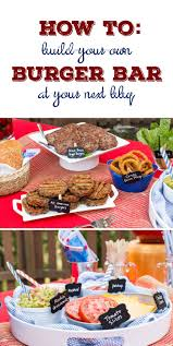 Backyard Burger Hours Best 25 Burger Bar Party Ideas On Pinterest Burger Bar