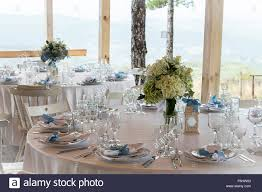 wedding silverware wedding table decoration with white tablecloth and silverware