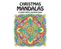 christmas mandalas coloring book printable coloring book