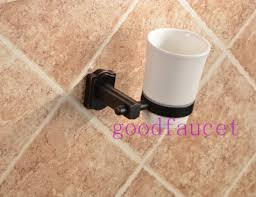 copper fashion oil rubbed bronze toothbrush cup holder copper