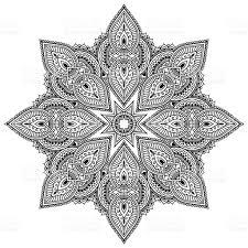 coloring pages henna art vector henna tatoo mandala mehndi style coloring page stock vector